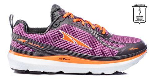 Womens Altra Paradigm 3.0 Running Shoe - Purple/Orange 7