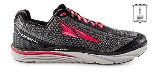Mens Altra Torin 3.0 Running Shoe - Grey/Red 10.5