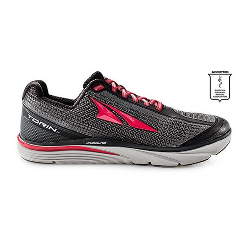 Mens Altra Torin 3.0 Running Shoe - Grey/Red 12