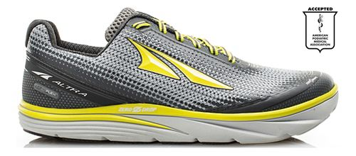 Mens Altra Torin 3.0 Running Shoe - Grey/Lime 12.5