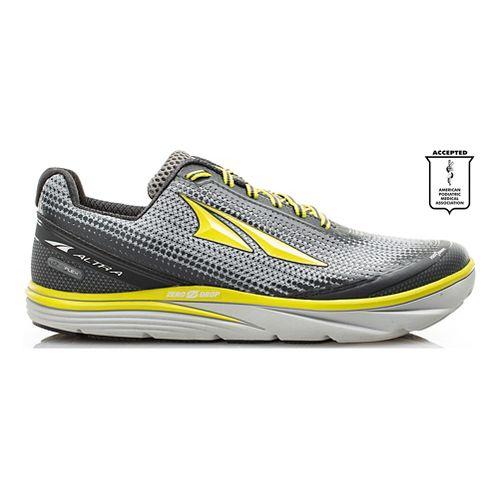 Mens Altra Torin 3.0 Running Shoe - Grey/Lime 10
