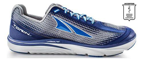 Mens Altra Torin 3.0 Running Shoe - Grey/Blue 10.5