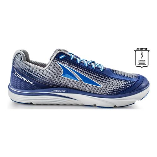 Mens Altra Torin 3.0 Running Shoe - Grey/Blue 8