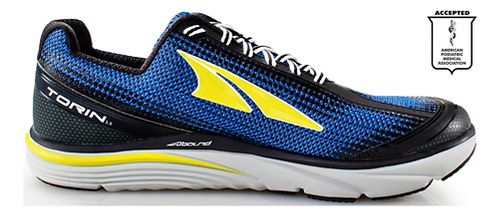 Mens Altra Torin 3.0 Running Shoe - Blue/Lime 11.5