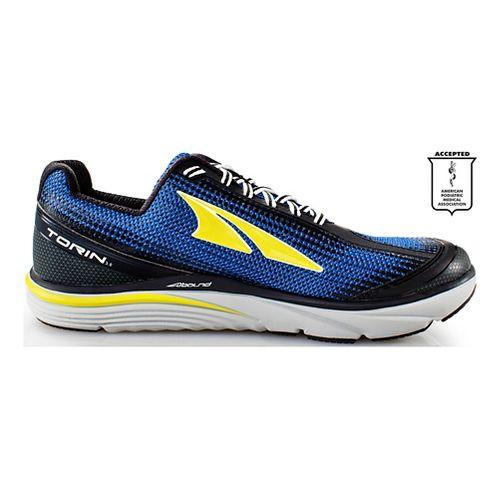 Mens Altra Torin 3.0 Running Shoe - Blue/Lime 11
