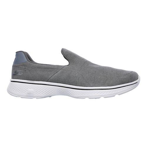 Mens Skechers GO Walk 4- Magnificent Casual Shoe - White 7.5