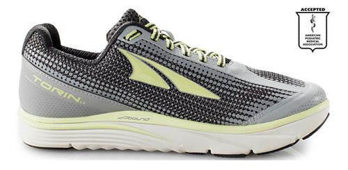 Womens Altra Torin 3.0 Running Shoe - Grey/Lime 10