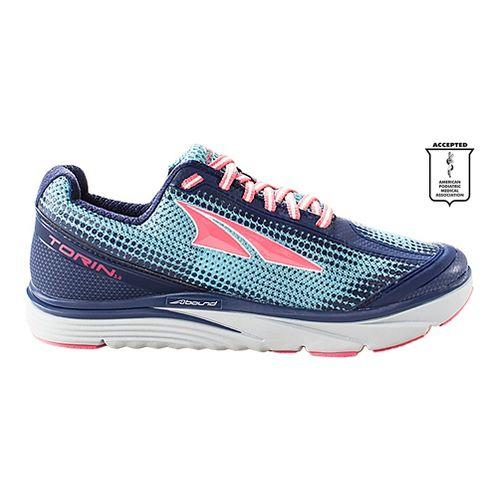 Womens Altra Torin 3.0 Running Shoe - Grey/Pink 8