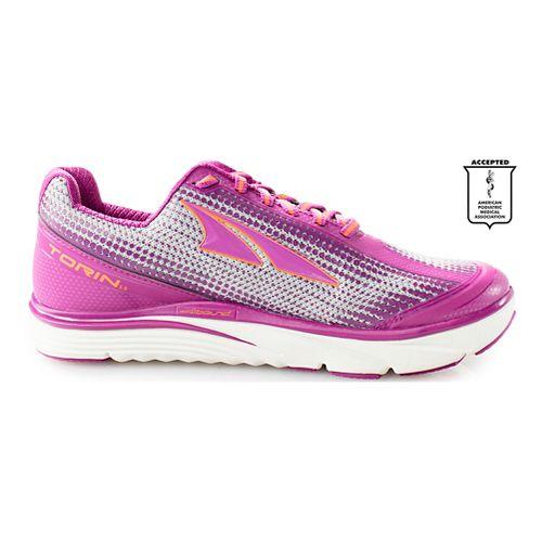 Womens Altra Torin 3.0 Running Shoe - Purple/Orange 10