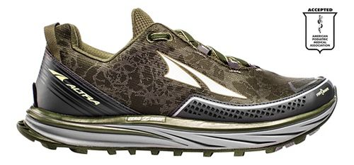 Mens Altra Timp Trail Running Shoe - Green 9