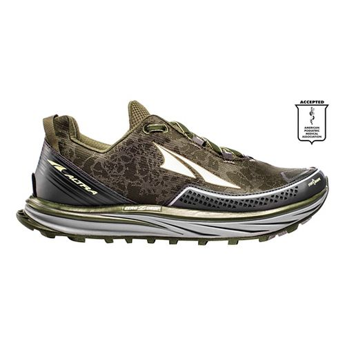 Mens Altra Timp Trail Running Shoe - Green 9.5