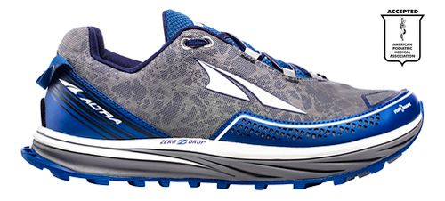 Mens Altra Timp Trail Running Shoe - Blue 8