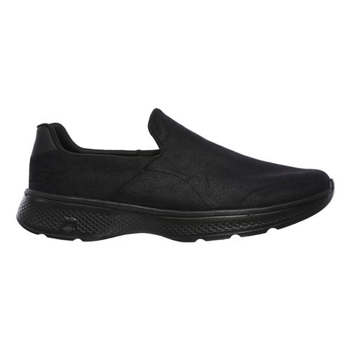 Mens Skechers GO Walk 4 - Remarkable Casual Shoe - Black 10