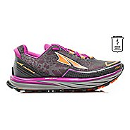 Womens Altra Timp Trail Running Shoe - Grey/Purple 10.5