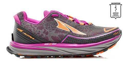 Womens Altra Timp Trail Running Shoe - Grey/Purple 12