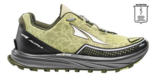 Womens Altra Timp Trail Running Shoe - Green 8.5