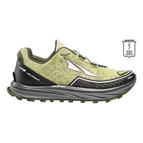 Womens Altra Timp Trail Trail Running Shoe - Green 10