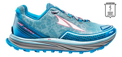 Womens Altra Timp Trail Running Shoe - Grey/Purple 9