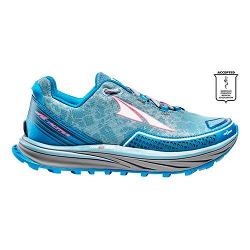 Womens Altra Timp Trail Running Shoe - Blue 7.5