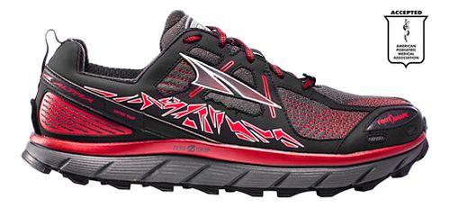 Mens Altra Lone Peak 3.5 Trail Running Shoe - Red 12