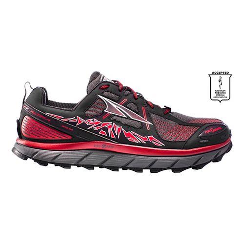 Mens Altra Lone Peak 3.5 Trail Running Shoe - Red 10