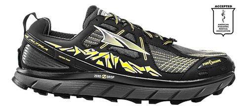 Mens Altra Lone Peak 3.5 Trail Running Shoe - Yellow 8