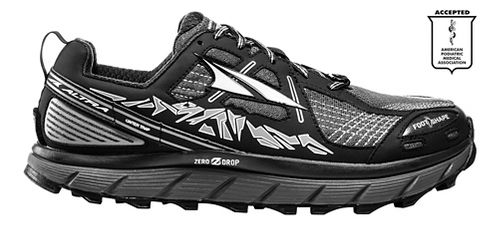 Womens Altra Lone Peak 3.5 Trail Running Shoe - Black 11