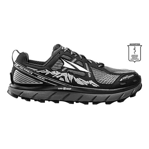 Womens Altra Lone Peak 3.5 Trail Running Shoe - Black 8.5