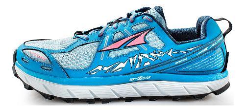 Womens Altra Lone Peak 3.5 Trail Running Shoe - Blue 9.5