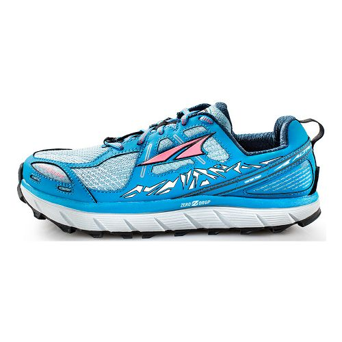 Womens Altra Lone Peak 3.5 Trail Running Shoe - Blue 7.5