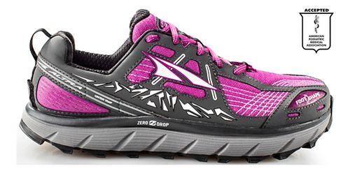 Womens Altra Lone Peak 3.5 Trail Running Shoe - Purple 10.5