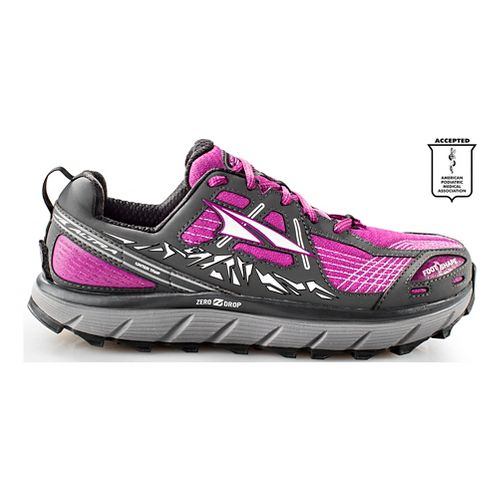 Womens Altra Lone Peak 3.5 Trail Running Shoe - Purple 6.5