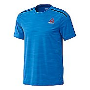 Mens Reebok ACTVChill Full Short Sleeve Technical Tops