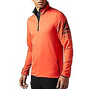 Mens Reebok Bioknit Quarter Zip Half-Zips & Hoodies Technical Tops