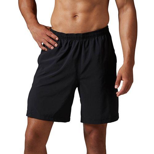 Mens Reebok CrossFit Woven Unlined Shorts - Black XL