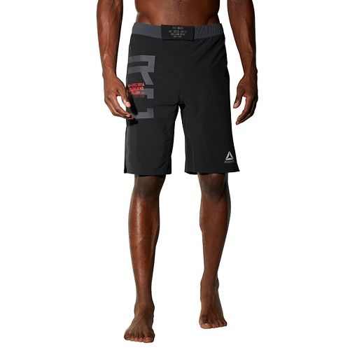 Mens Reebok Combat MMA Unlined Shorts - Black 38