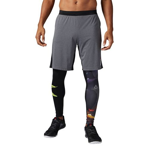 Mens Reebok Graphic Unlined Shorts - Lead XL