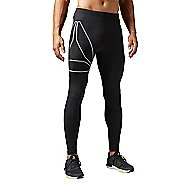 Mens Reebok Running Tights & Leggings Pants