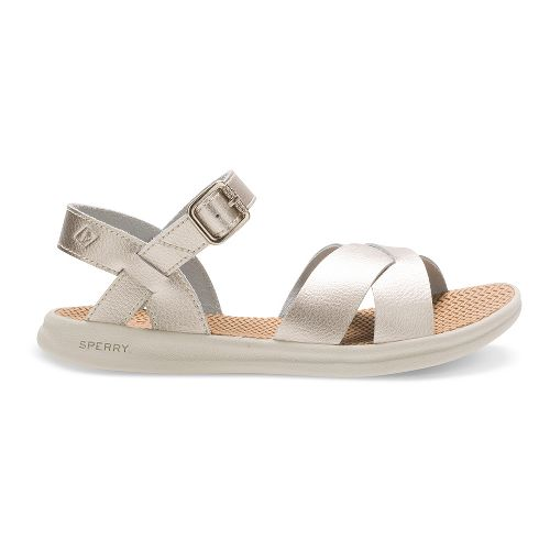 Sperry Top-Sider Baytide Sandals Shoe - White Gold 3Y