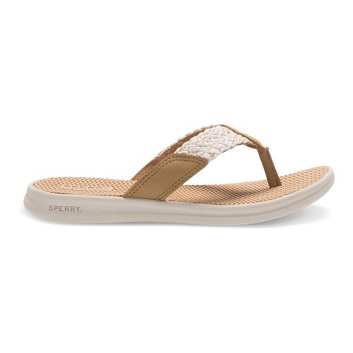 Sperry Top-Sider Seacove Sandals Shoe - Linen/White 12C