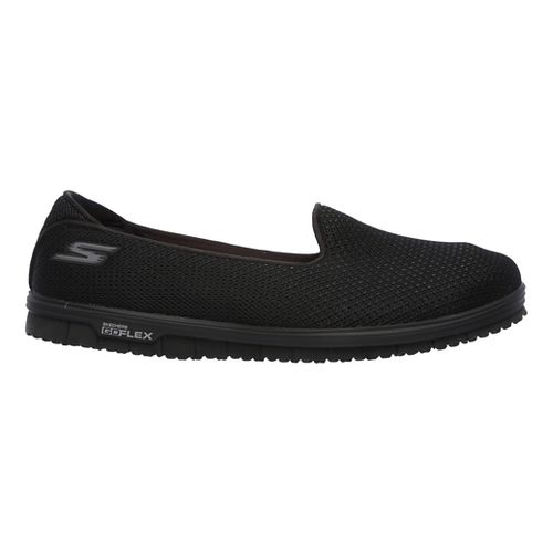 Womens Skechers GO Mini Flex - Admire Walking Shoe - Black 5