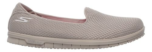 Womens Skechers GO Mini Flex - Admire Walking Shoe - Taupe 7