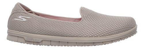 Womens Skechers GO Mini Flex - Admire Walking Shoe - Taupe 7.5