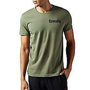 Mens Reebok CrossFit Athena Tee Short Sleeve Technical Tops