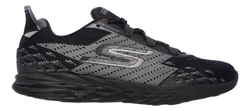Womens Skechers GO Run 5 Running Shoe - Black 10