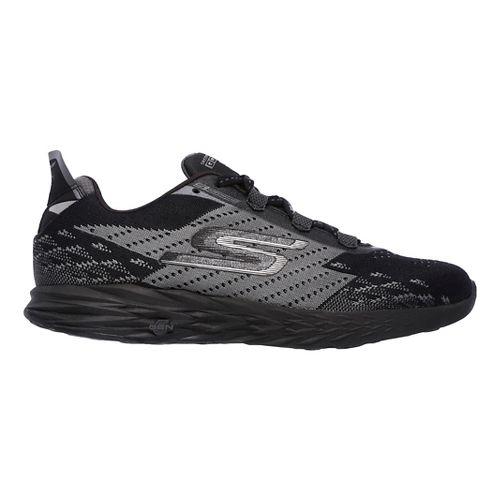 Womens Skechers GO Run 5 Running Shoe - Black/Teal 9.5