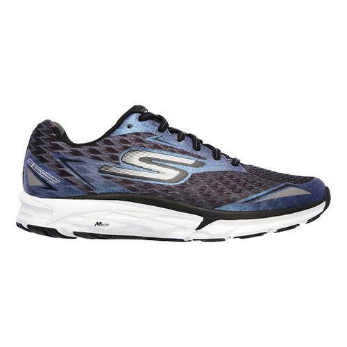 Womens Skechers GO Run Forza 2 Running Shoe - Black/White 11