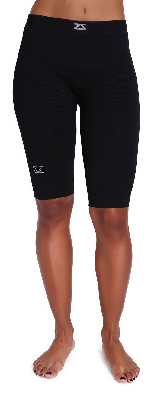 Zensah The Recovery Compression & Fitted Shorts - Black S/M