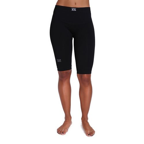 Zensah The Recovery Compression & Fitted Shorts - Black L/XL