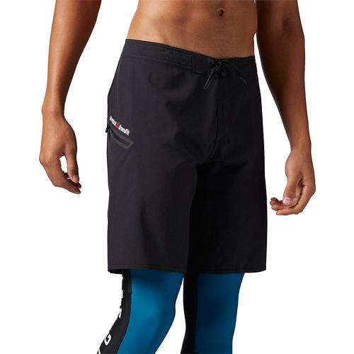 Mens ReebokCrossFit Super Nasty Core Solid Unlined Shorts - Black 32